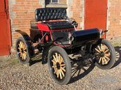 A really very good Veteran Car Club dated 5hp Oldsmobile which is in top class condition