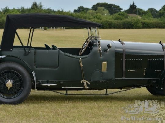 Bentley Speed Eight Racing Green Open Tourer 1930 for sale