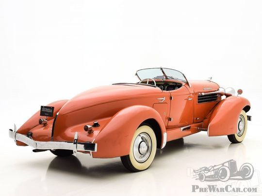 Auburn 852SC Boattail Speedster 1936 for sale