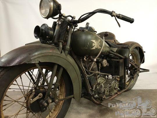 Harley Davidson 1928 28b 350cc 1 Cyl Sv: Motorbike Excelsior Super X Sidecar 1929 For Sale