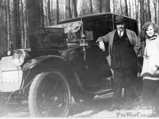 Mystery pre-WW1 BENZ taxi