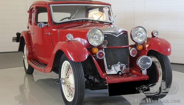 Riley - Kestrel - 1934