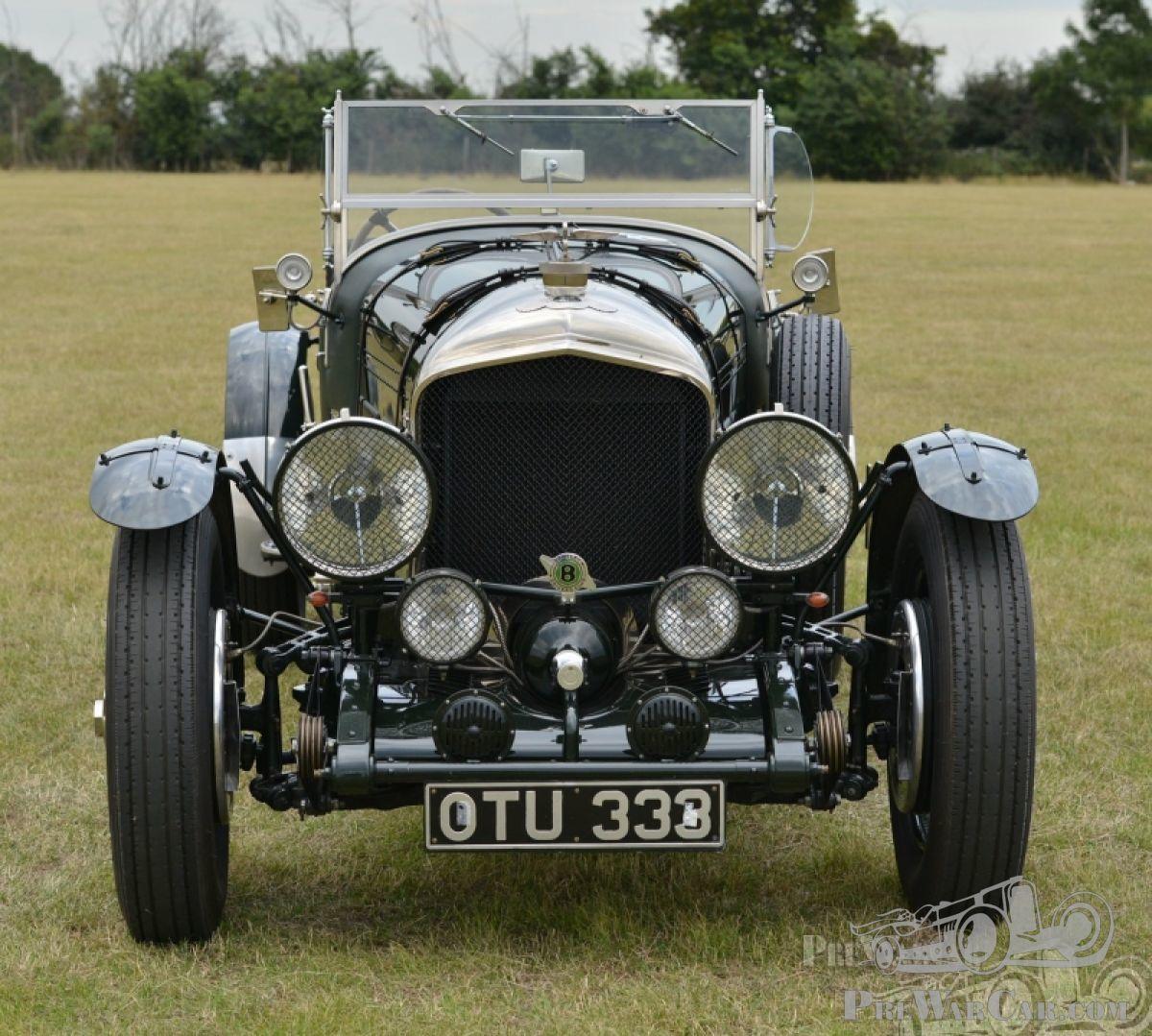 Car Bentley Speed Eight Racing Green 1930 For Sale
