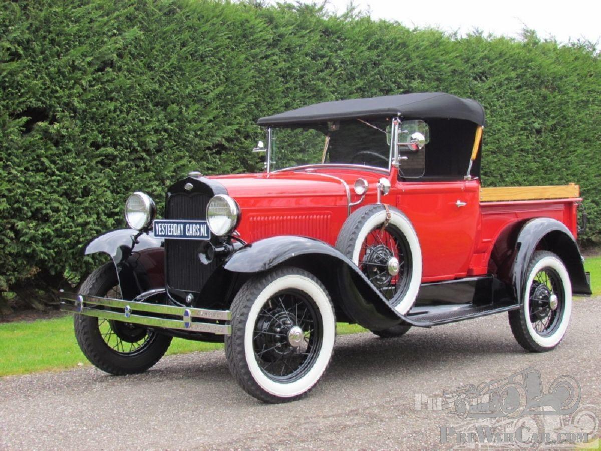 car ford model a roadster pick up 1931 for sale prewarcar. Black Bedroom Furniture Sets. Home Design Ideas