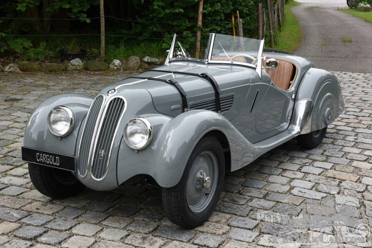 Car BMW 328 Sport-Roadster 1938 for sale - PreWarCar