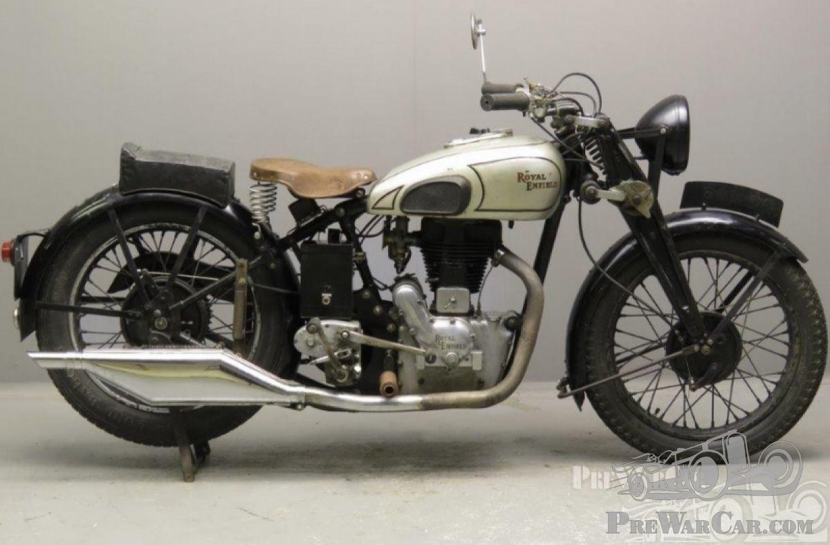 Motorbike Royal Enfield Model J 1937 For Sale Prewarcar