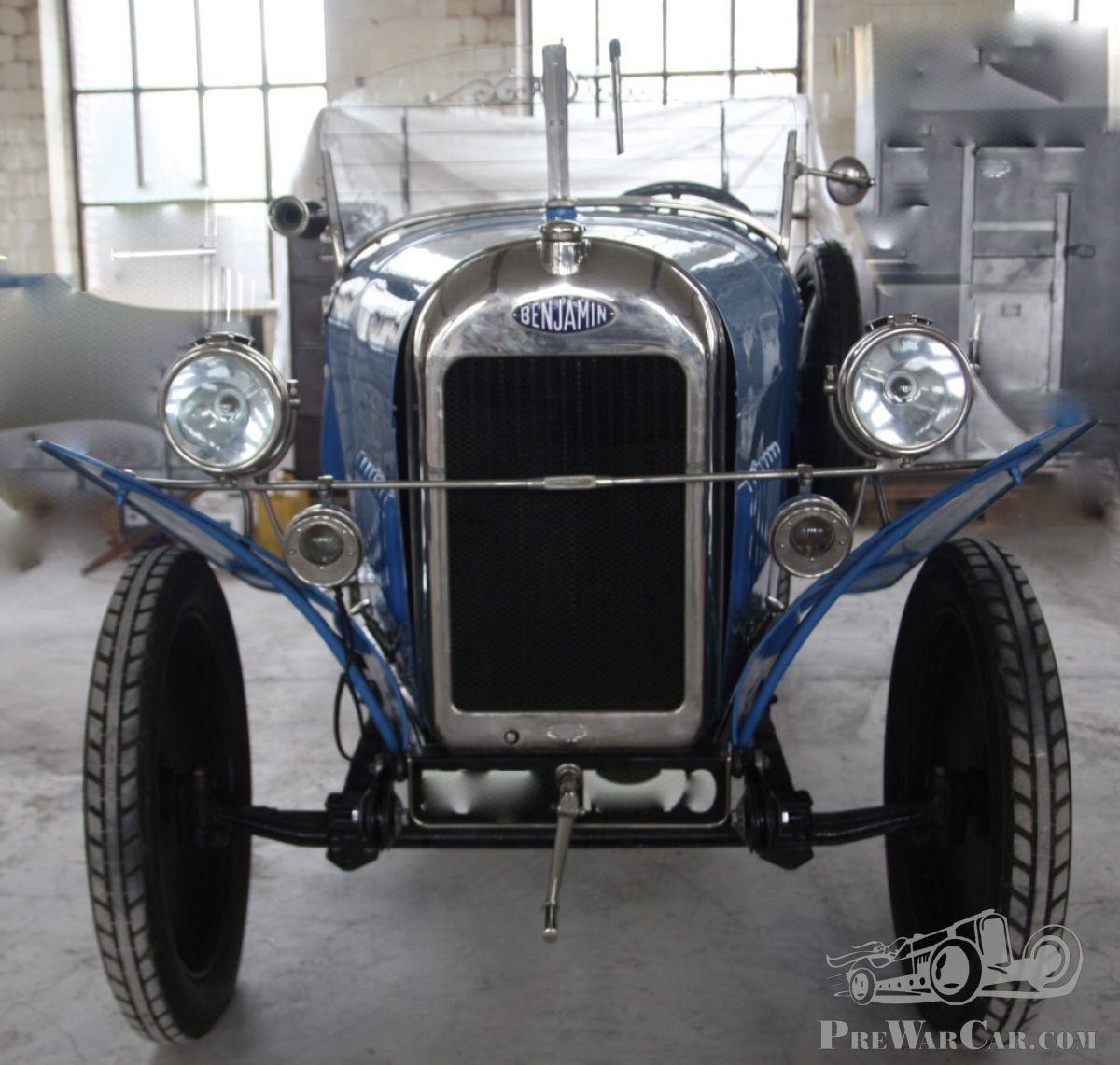 Car Benjamin Cyclecar P2 - 4 cylindres 1922 for sale - PreWarCar