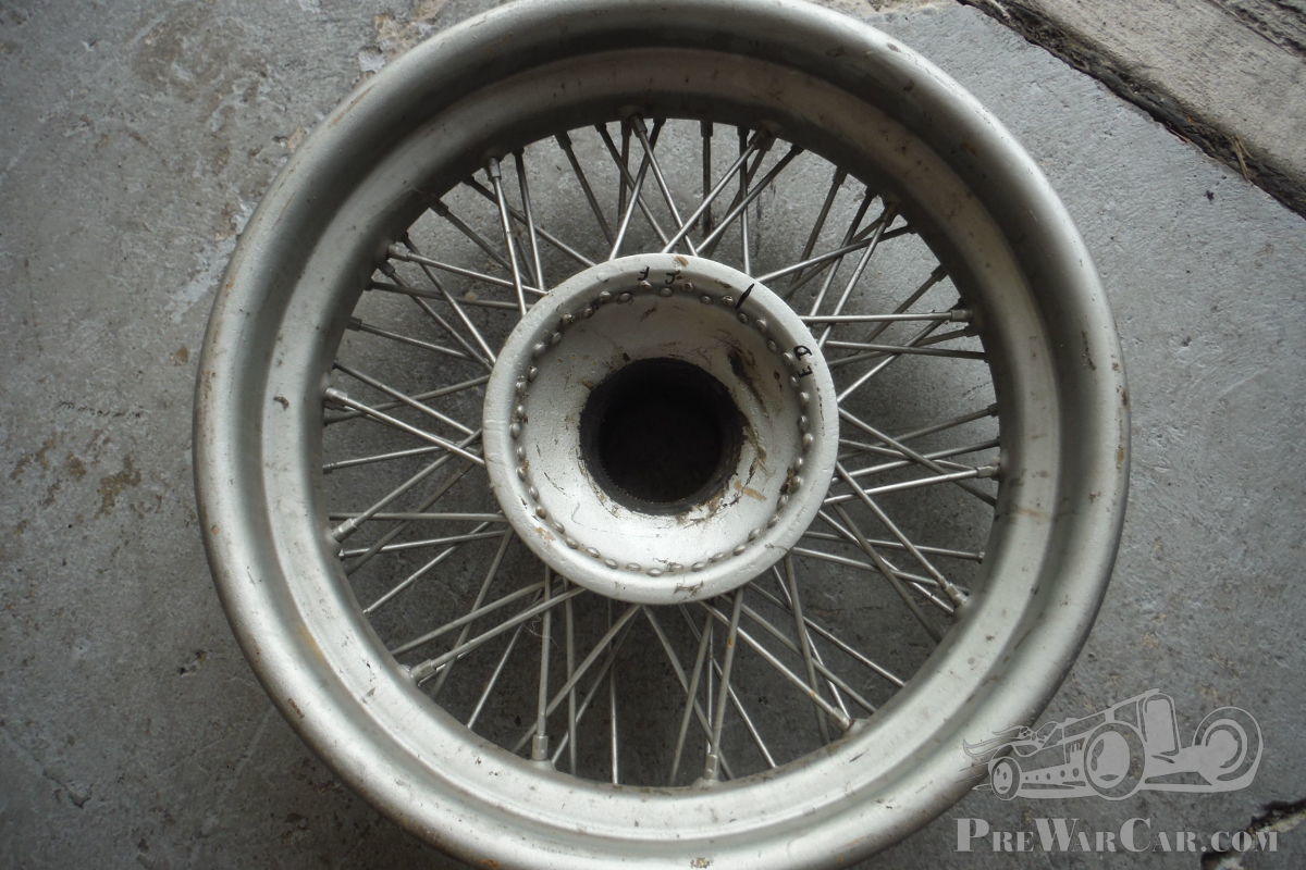 Part Delahaye Wheels/ tyres & parts Delahaye for sale - PreWarCar