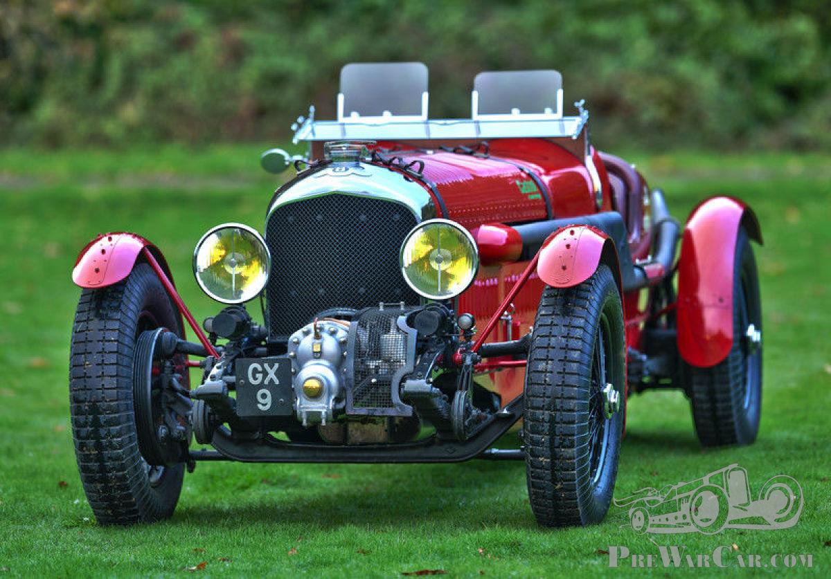 Car Bentley Blower 4/8 litre racer. 1932 for sale - PreWarCar