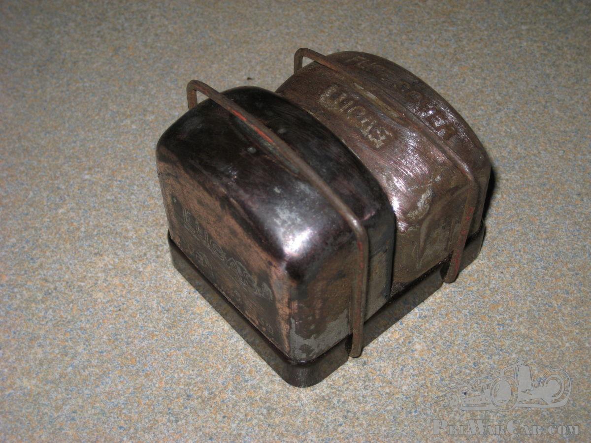 Lucas 6 volt Cutout and Fuse Box for Austin 7 etc.