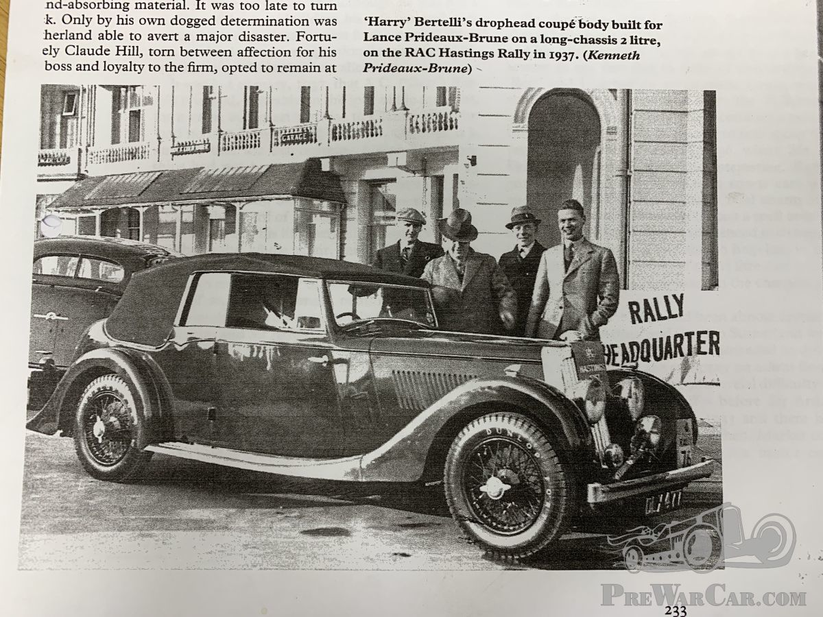 car aston martin 15/98 long chassis 1937 for sale - prewarcar