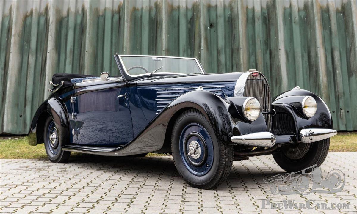 car bugatti type 57 1938 for sale prewarcar. Black Bedroom Furniture Sets. Home Design Ideas