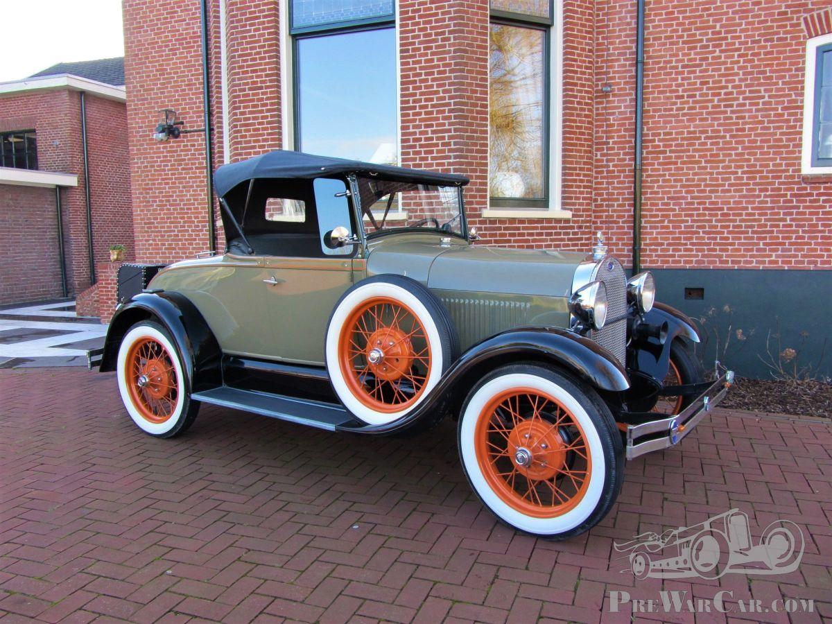 Car Ford A roadster 1929 for sale - PreWarCar