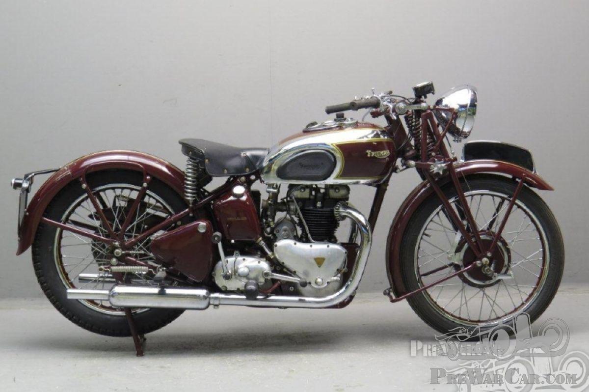 Motorbike Triumph Speed Twin For Sale Prewarcar