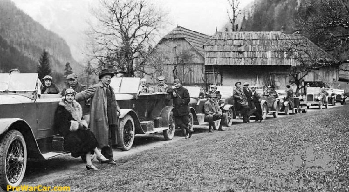 Rally car mysteries in Slovenia