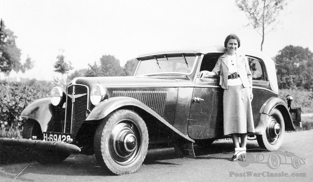 Miss Stapel says Goodbye to a 1935 Adler Trumpf (update: or Favorit?)