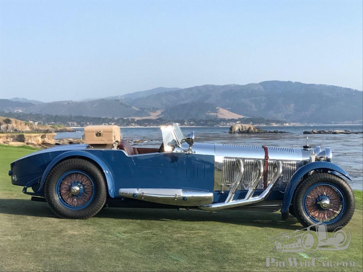 1929 Mercedes S Barker Tourer Wows At 2017 Pebble Beach Concours D